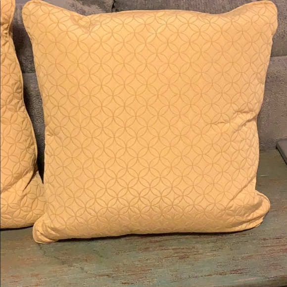 Fabulous Two Large Couch Pillows Gmtry Best Dining Table And Chair Ideas Images Gmtryco